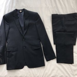Burberry Dark Navy Modern Fit Suit and Trousers